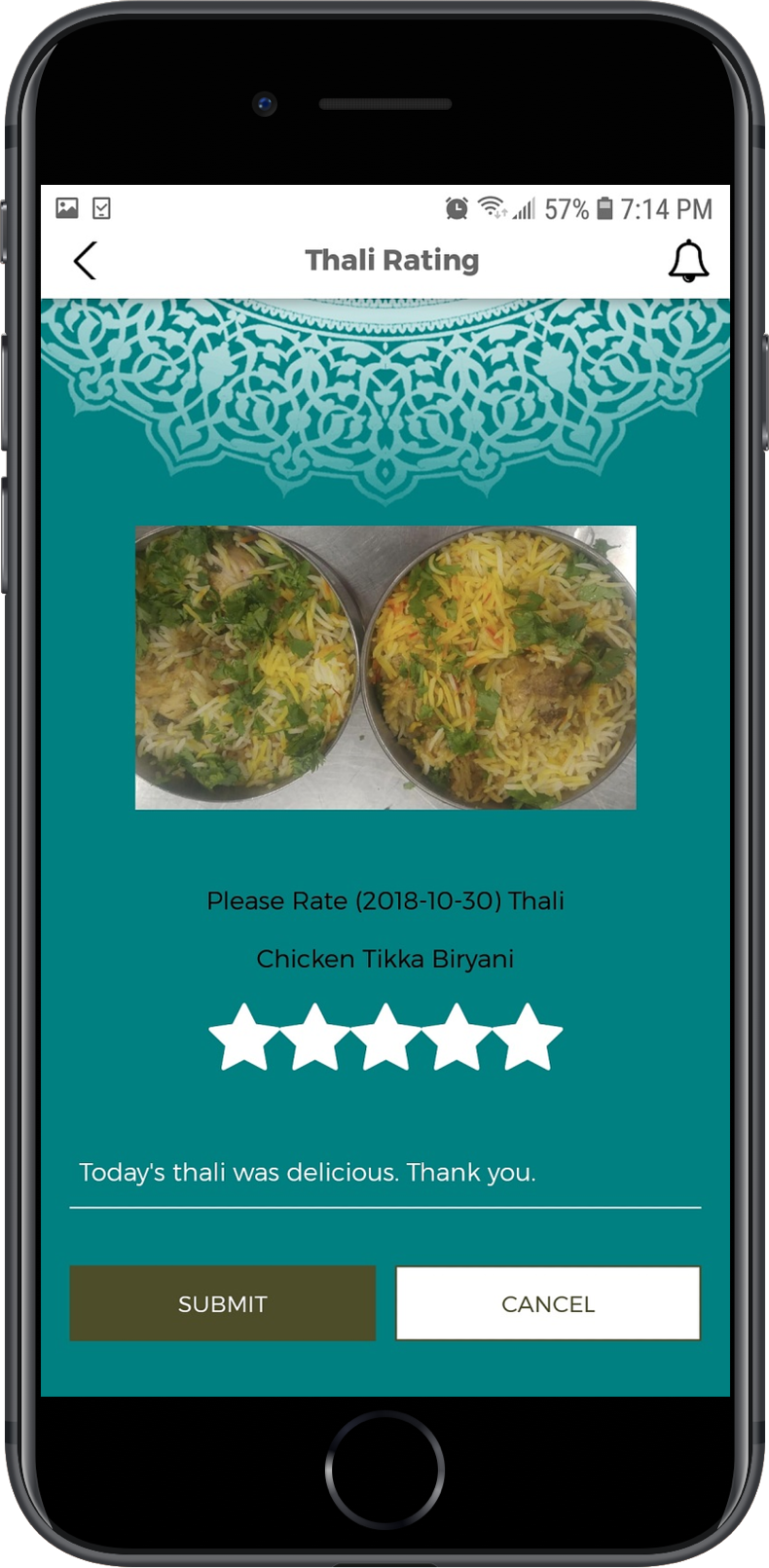 Thaali-Rating